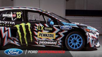 Hoonigan Racing ford rs rx ralicross