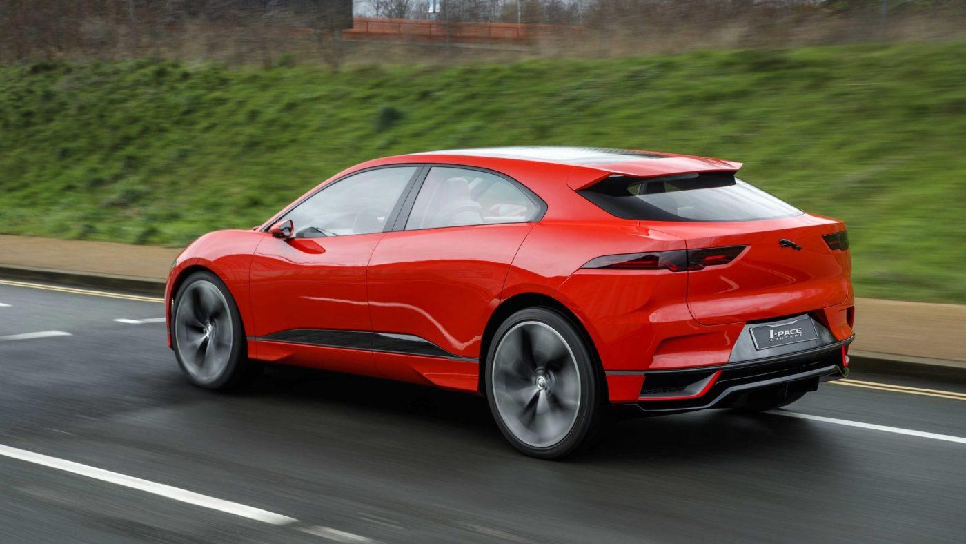 2017 Jaguar I-Pace elétricos