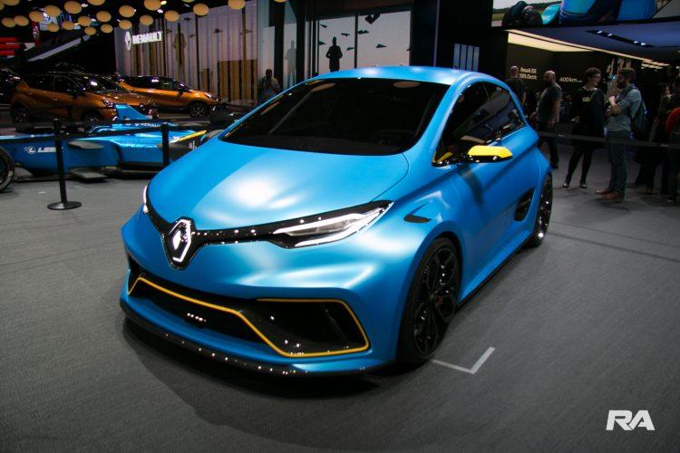 2017 Renault Zoe e-Sport em Genebra