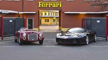 Ferrari 70º aniversário - Ferrari 125 S e Ferrari LaFerrari