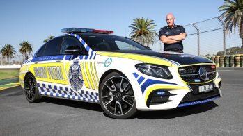 2017 Mercedes-AMG E43 polícia australiana