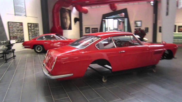 Feerari 250 GT no Museo Ferruccio Lamborghini