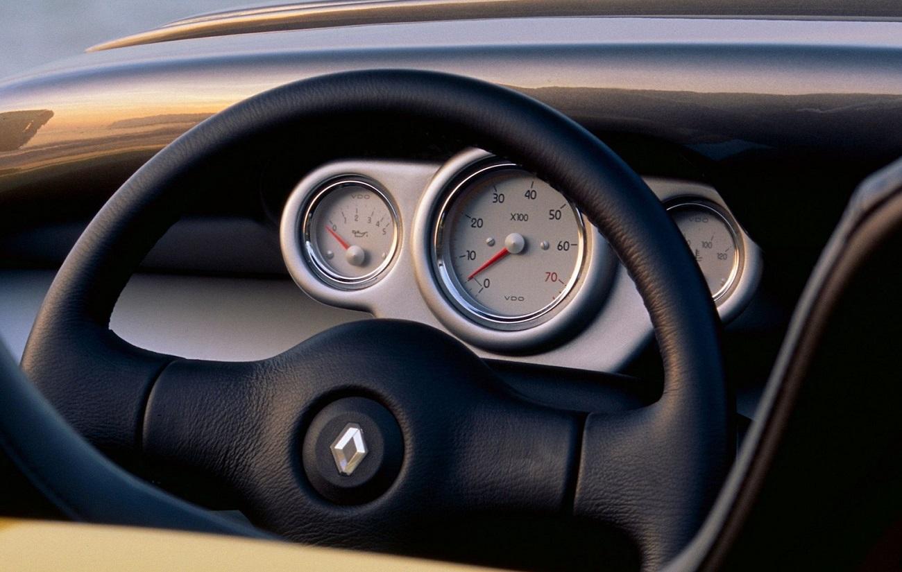 Renault Spider, painel de instrumentos