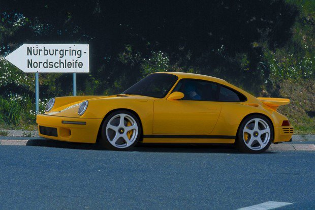 RUF CTR Yellow BIrd, 2017