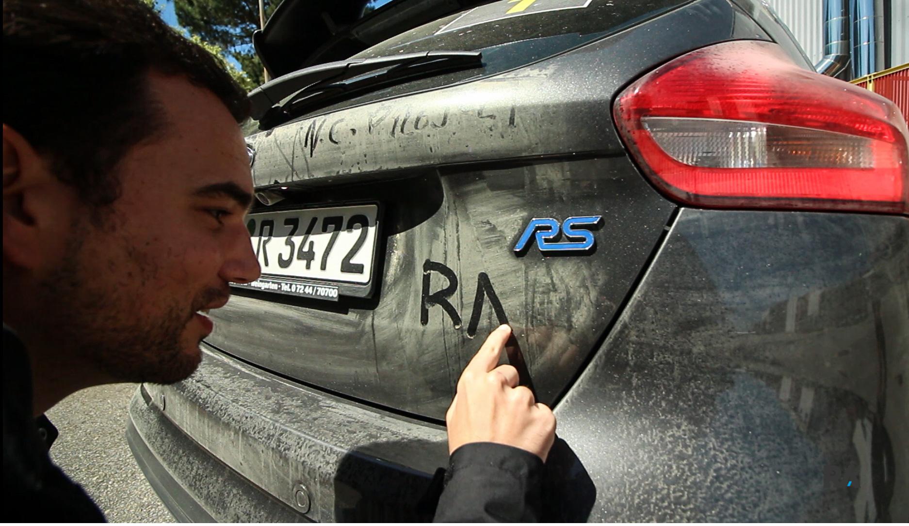 Ford Focus RS — Mais um modelo com o «ferro» da Razão Automóvel.