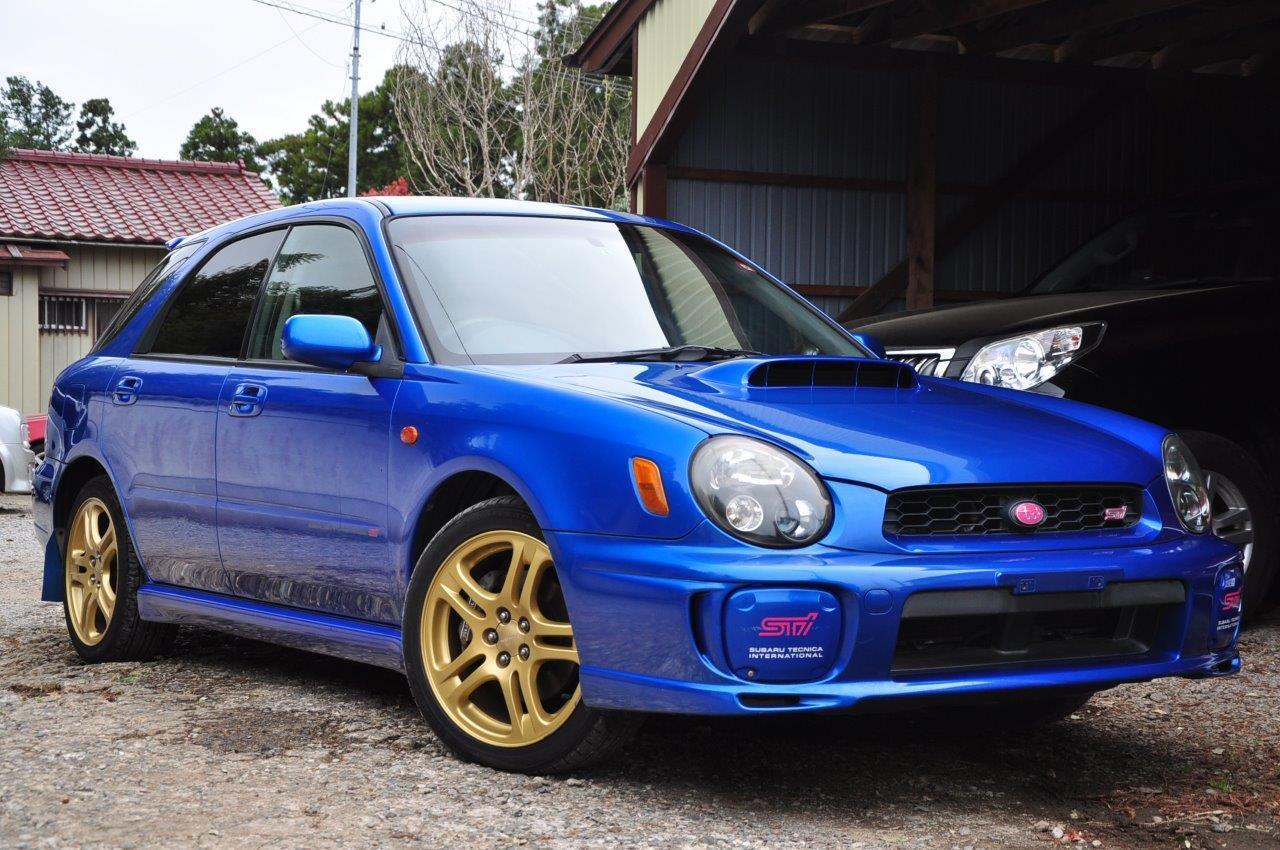 2002 Subaru Impreza STi