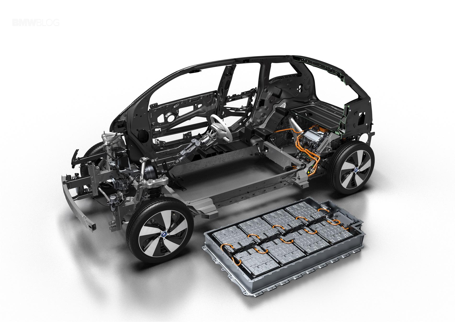 BMW i3 pack de baterias