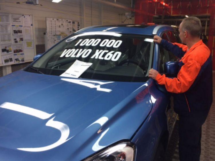 2017 Volvo XC60 um milhão