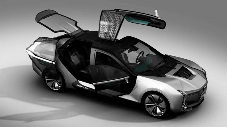 2017 Qoros Model K-EV