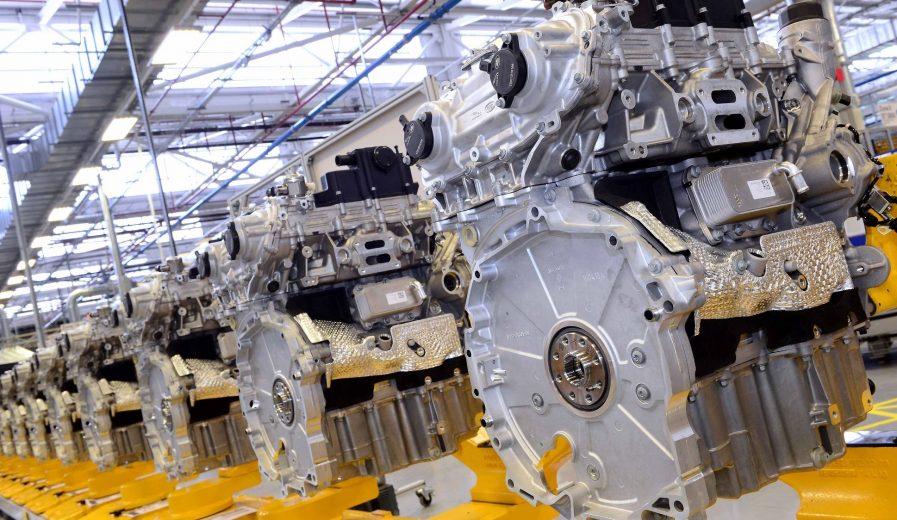 Linha de Produção motores Ingenium