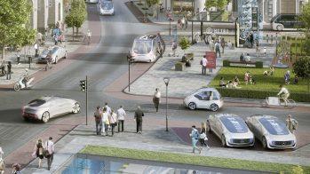 Daimler Bosch táxis-robô