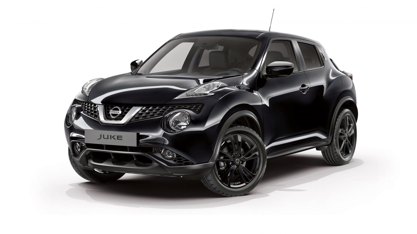 depois do qashqai eis o novo nissan juke black edition. Black Bedroom Furniture Sets. Home Design Ideas