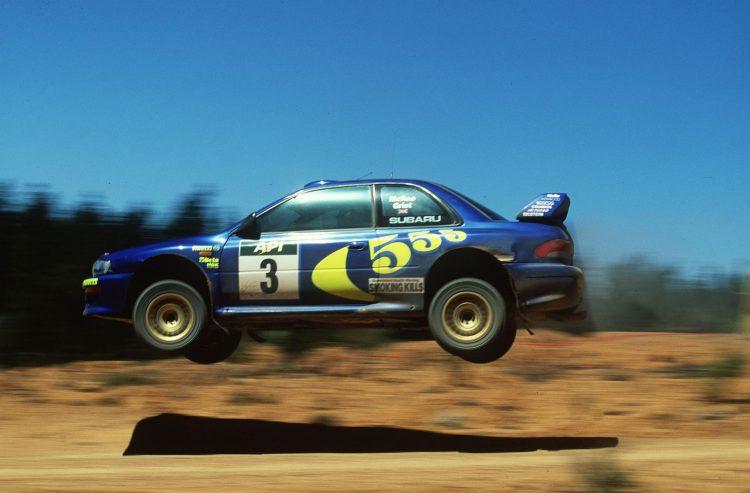 Subaru Impreza 555 Colin McRae