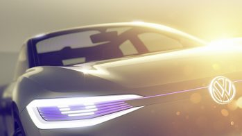 2017 Volkswagen I.D. Crossover concept
