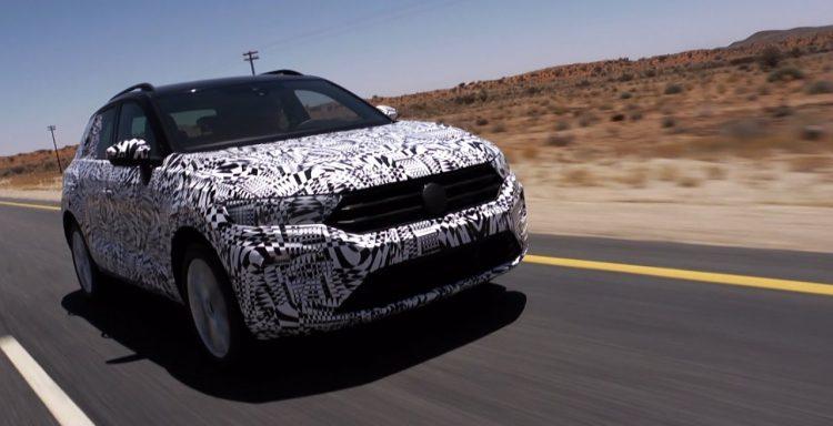 2017 Volkswagen T-Roc protótipo de testes