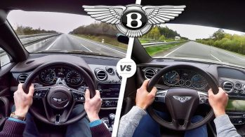 Bentley Bentayga W12 vs Bentley Continental GT V8