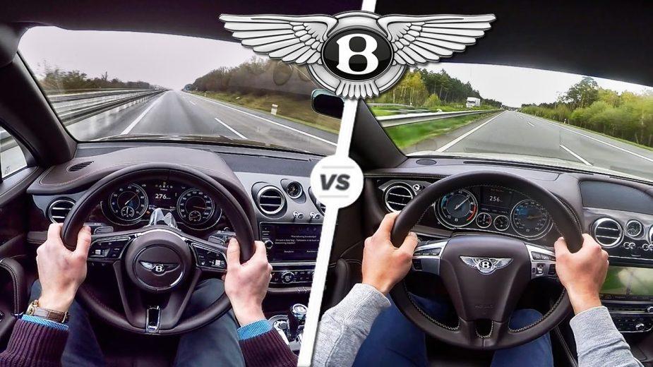 Bentley Bentayga W12 vs Bentley Continental GT V8