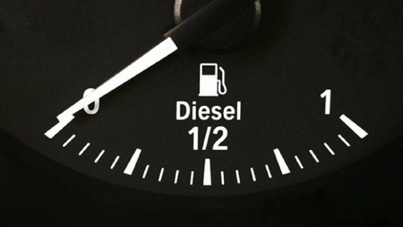 diesel empty