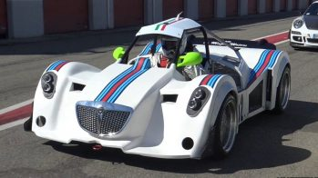 protótipo com motor Lancia Delta S4