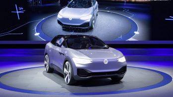 2017 Volkswagen I.D. Crozz em Xangai