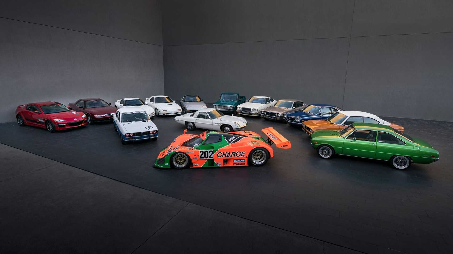 Mazda 50º aniversário do motor Wankel