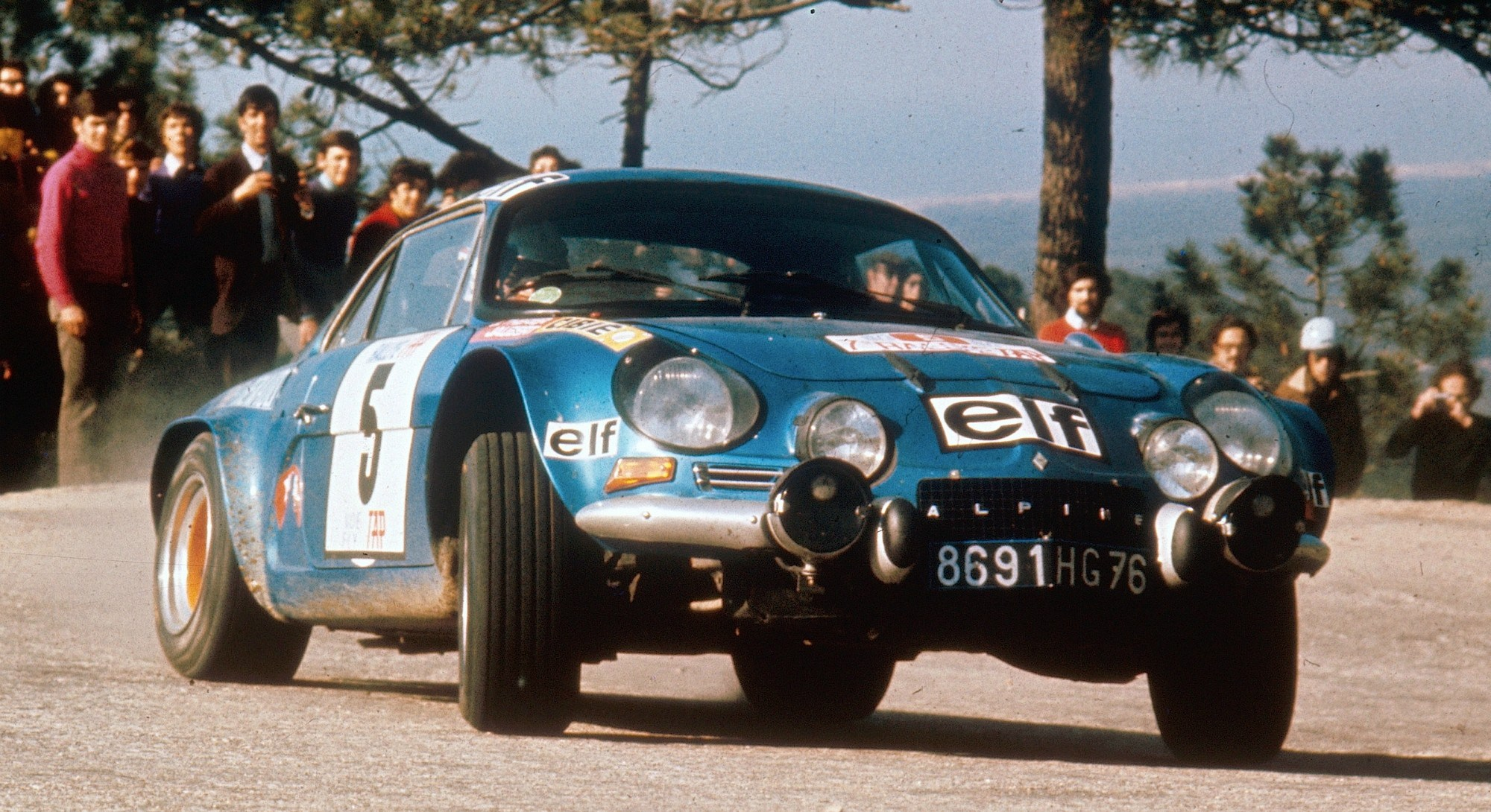 1973 – Alpine A110 1800 S – Jean-Luc Thérier