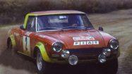 1974 – Fiat 124 Spider Abarth Rally – Rafaelle Pinto