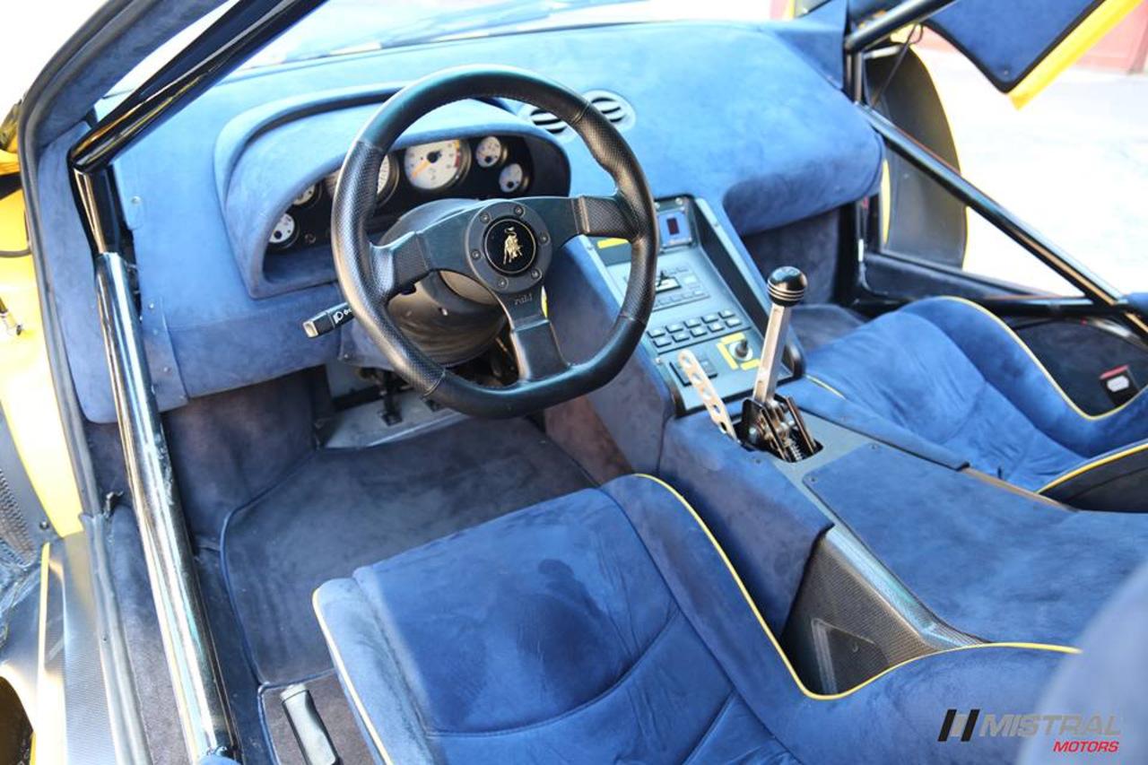 1997 Lamborghini Diablo GT1 Stradale interior