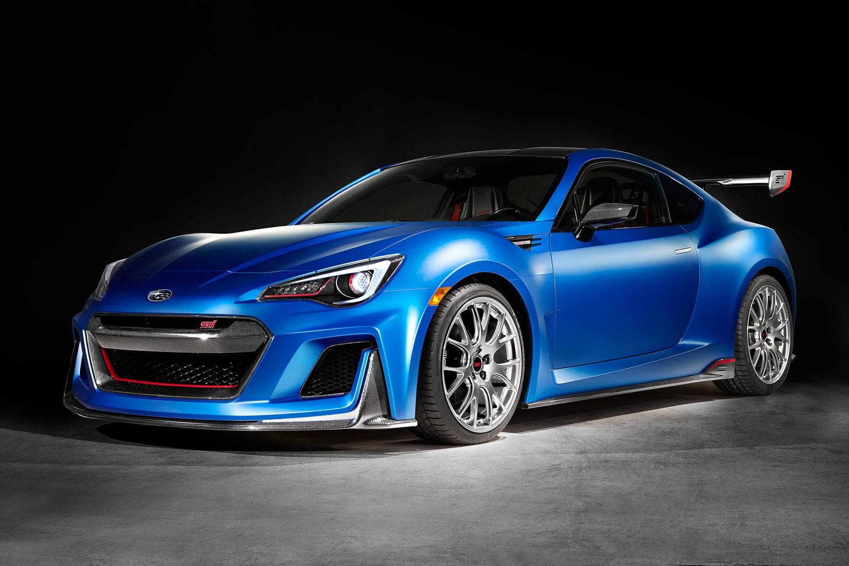 2015 Subaru BRZ STi concept