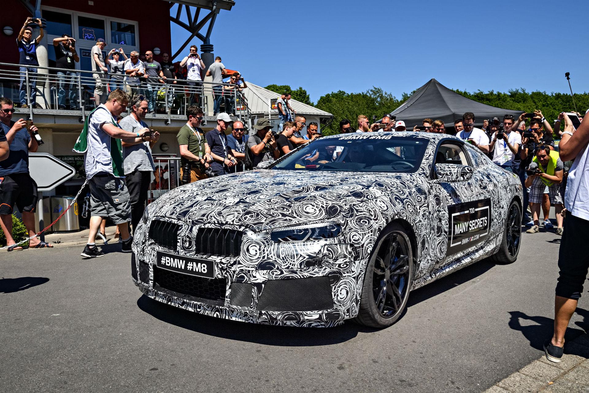 2017 BMW M8 teaser