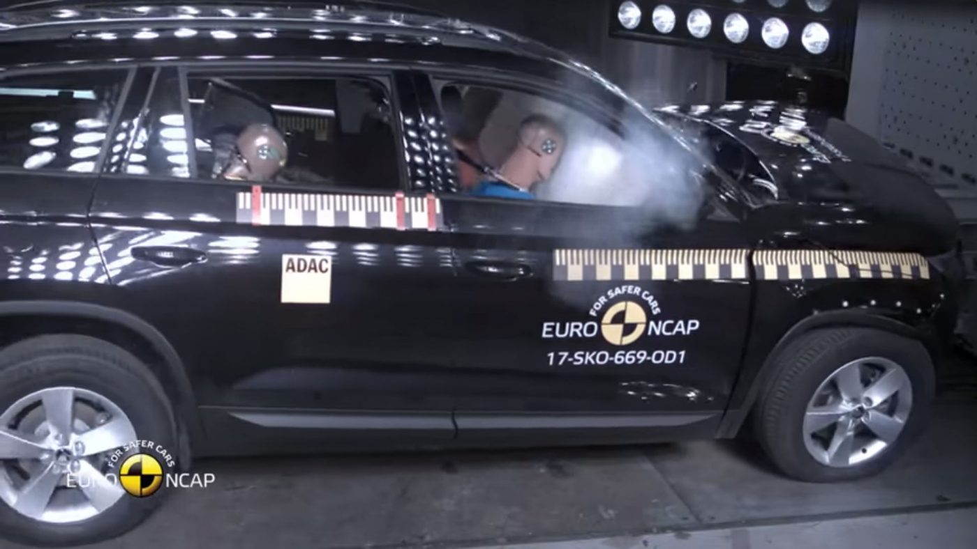 2017 Skoda Kodiaq Euro NCAP teste