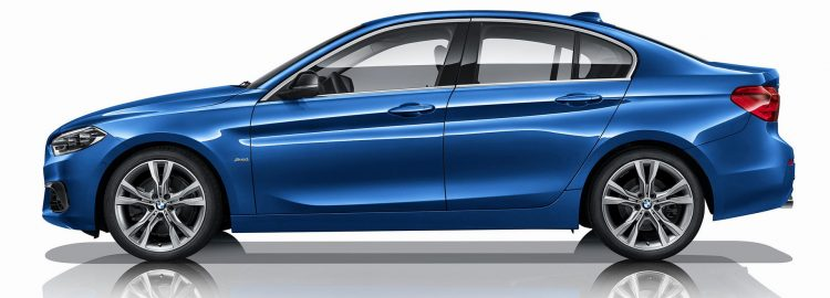 2017 BMW Série 1 sedan