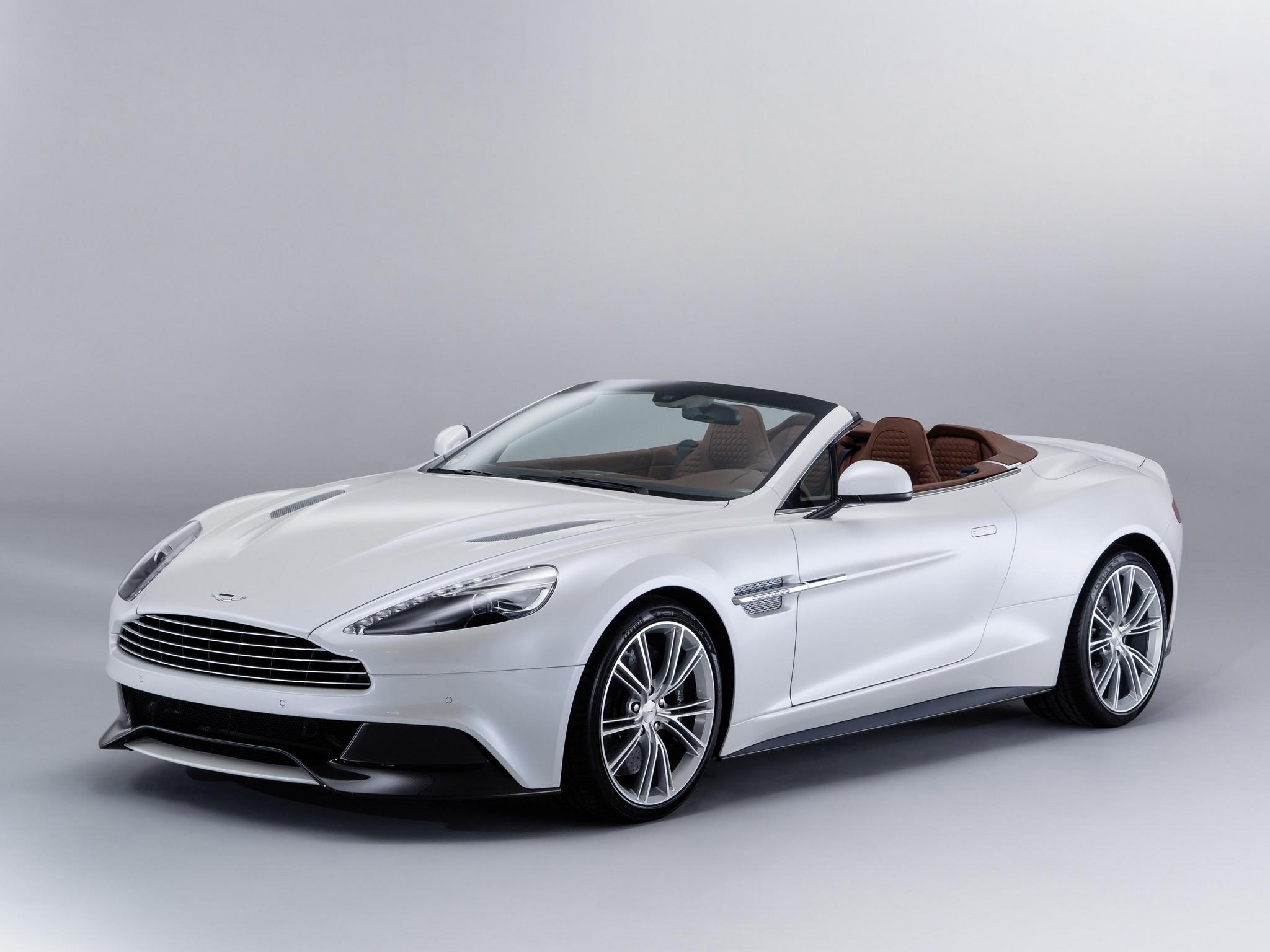 Aston Martin Vanquish Cabriolet
