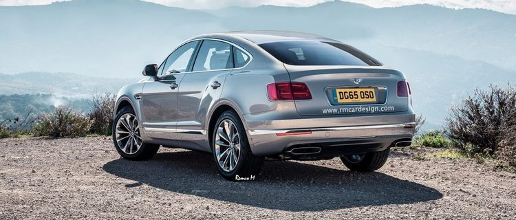 Bentley Bentayga Coupé por RM Car Design