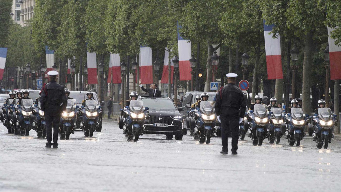 DS 7 Crossback - Emmanuel Macron