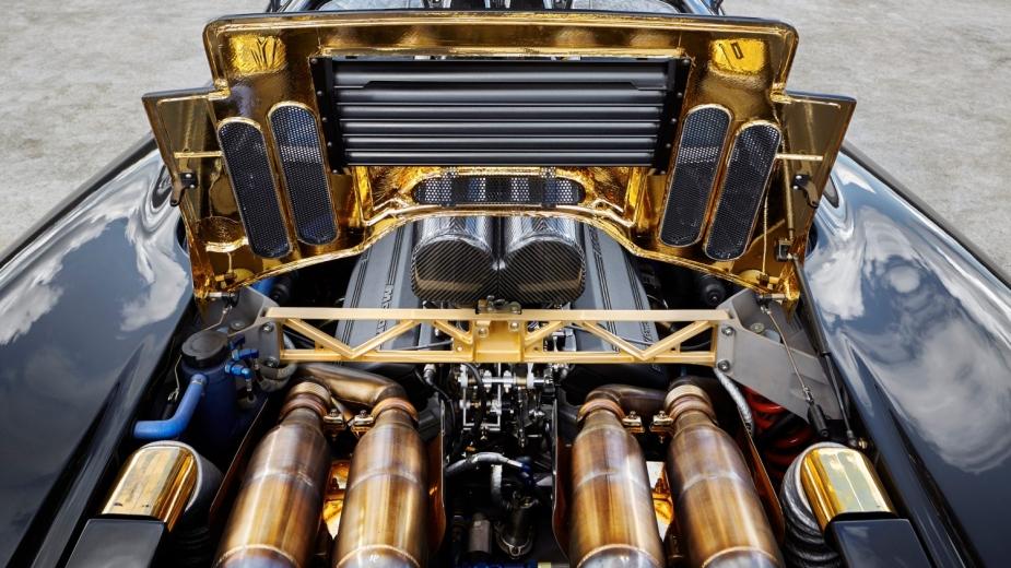 McLaren F1 compartimento do motor