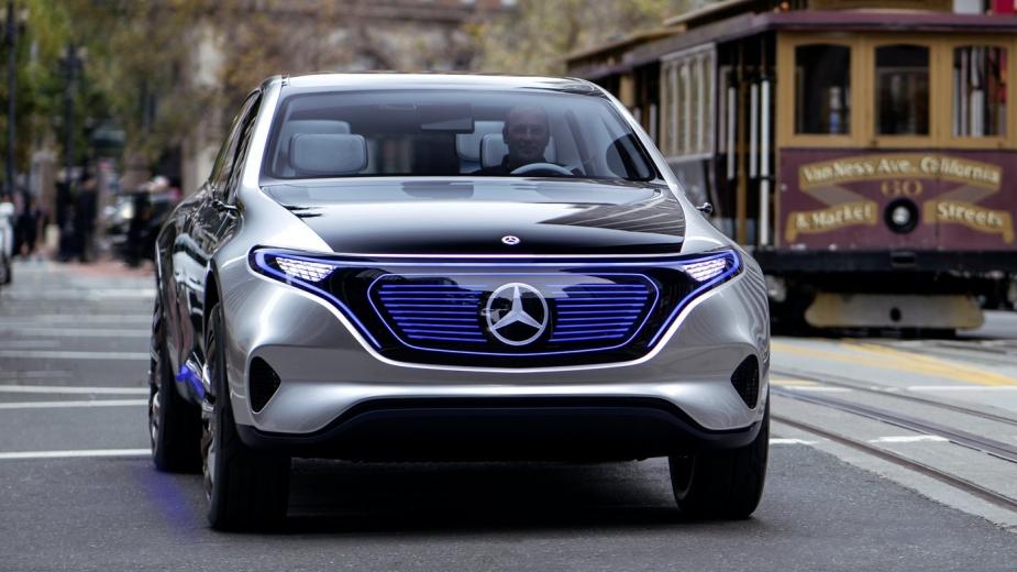 Mercedes Benz Vai Apresentar Mais Um El 233 Trico Em Frankfurt