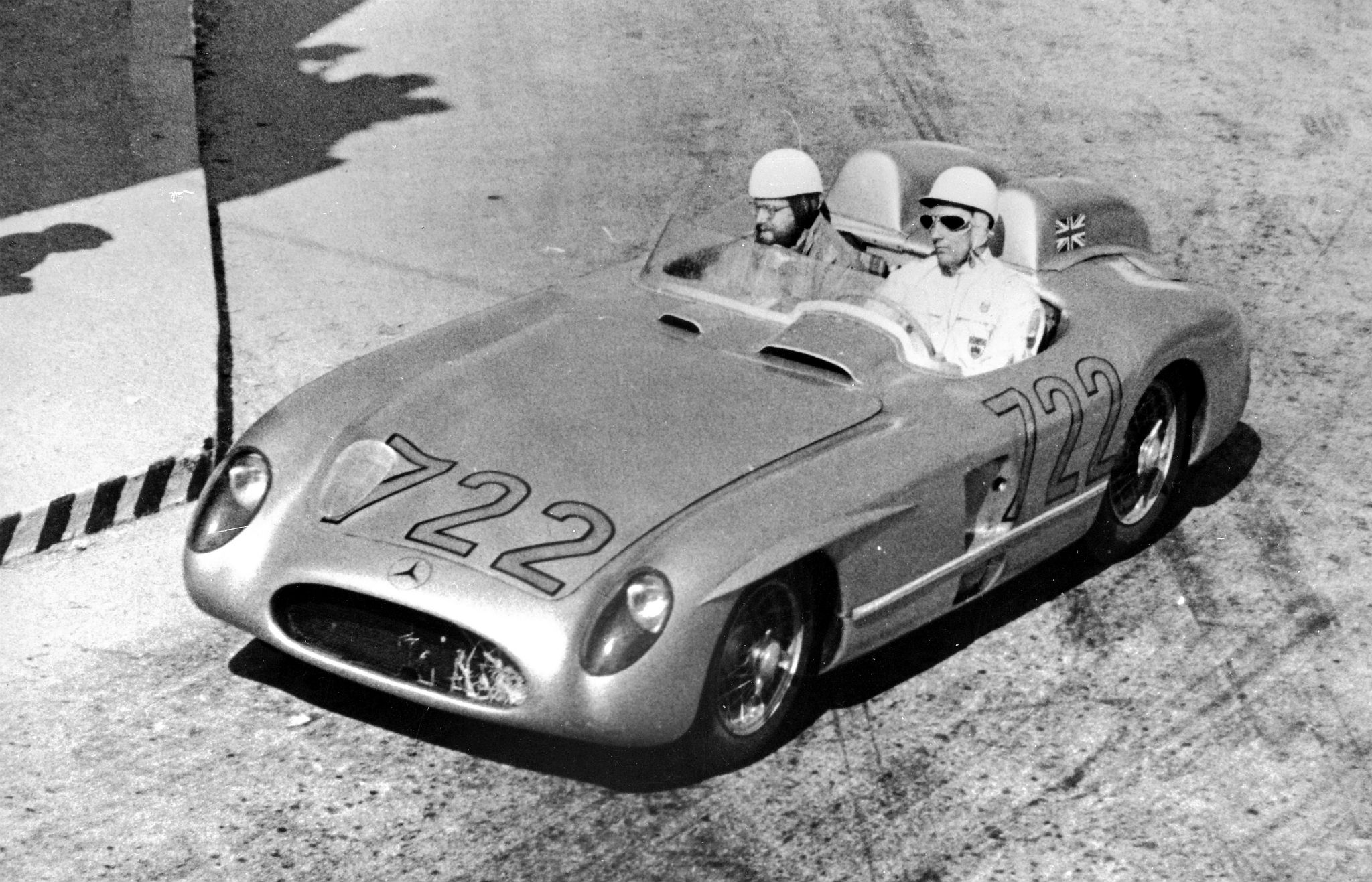 1955 Mercedes-Benz SLR - Stirling Moss - Mille Miglia