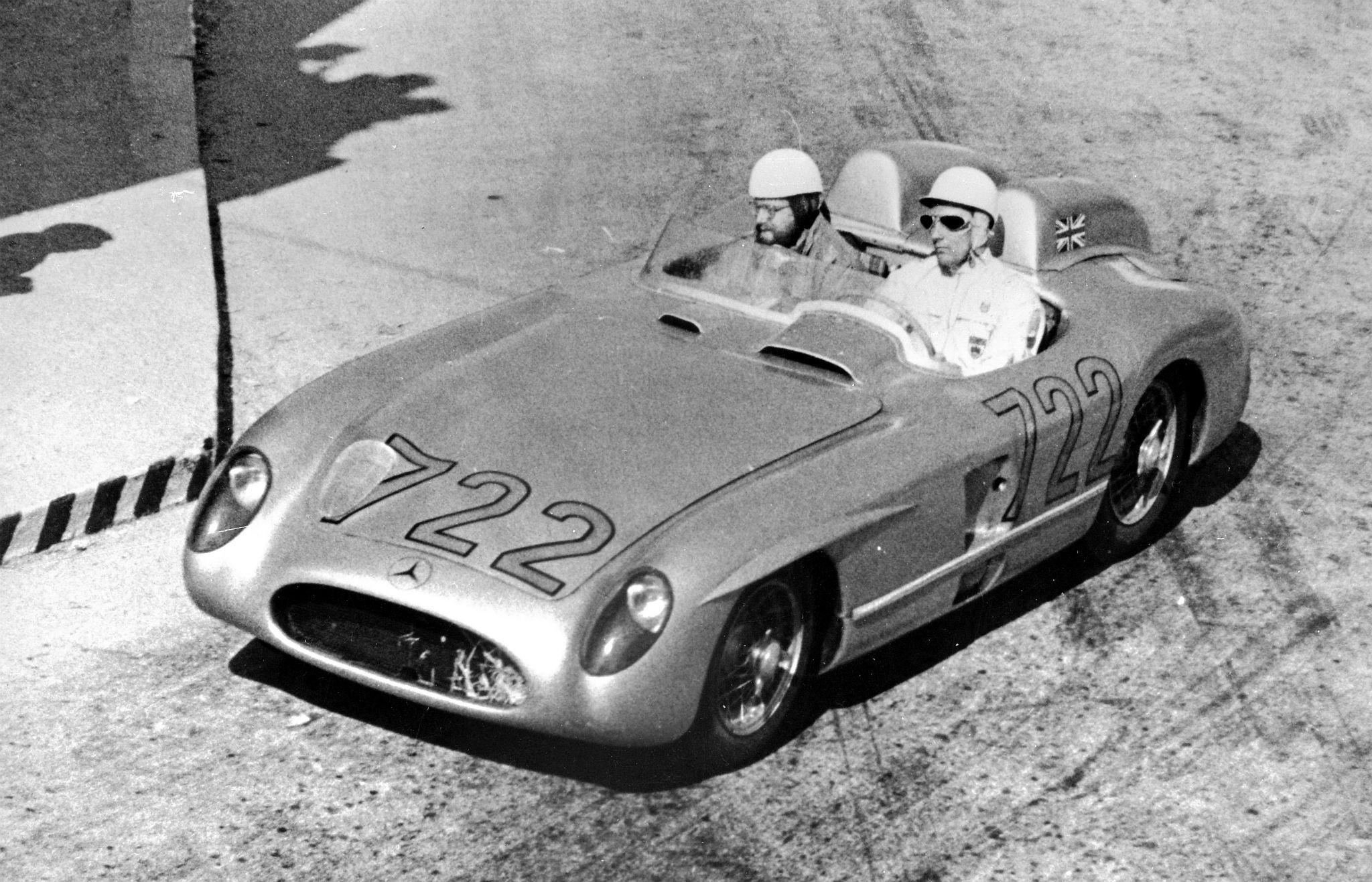 1955 Mercedes-Benz SLR - Stirling Moss - Mille Miglia