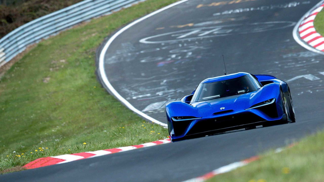 NIO EP9 Nürburgring