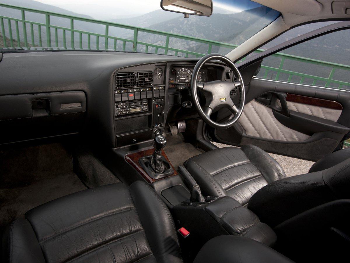 Lotus Omega interior