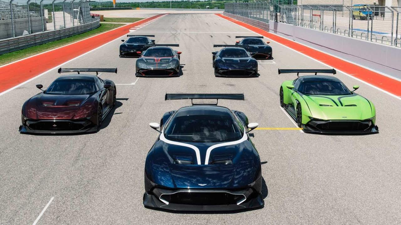 Aston Martin Vulcan Uma Erupcao No Circuito Da Americas