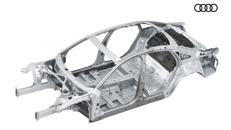Audi A8 spaceframe