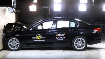 BMW Série 5 G30 Euro NCAP