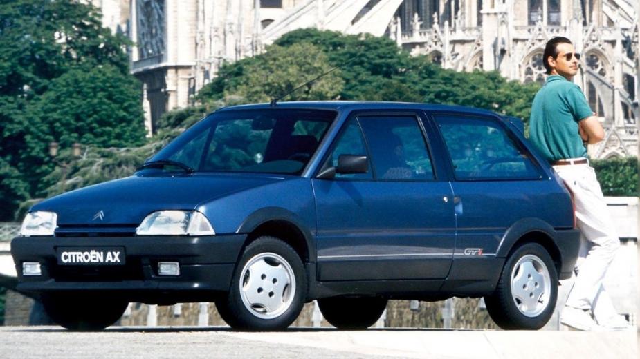 Lembras-te deste  Citroën AX GTI  The ultimate driving School c147df52a2e38