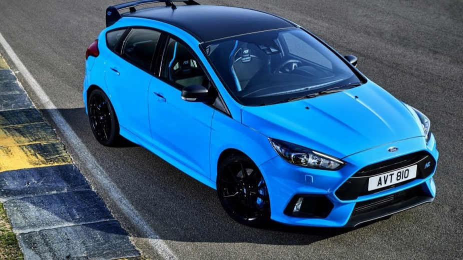ford focus rs recebe pack opcional focado na performance. Black Bedroom Furniture Sets. Home Design Ideas