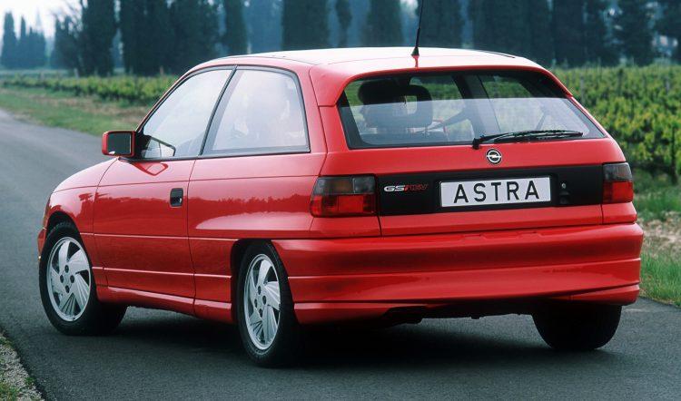 Opel Astra GSi 2.0 16v