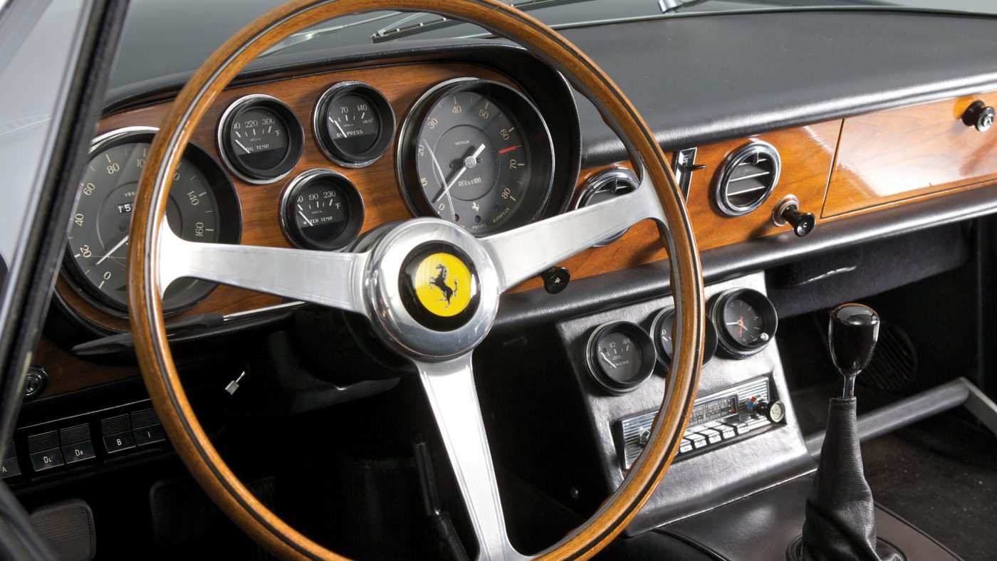 Ferrari 500 Superfast - interior