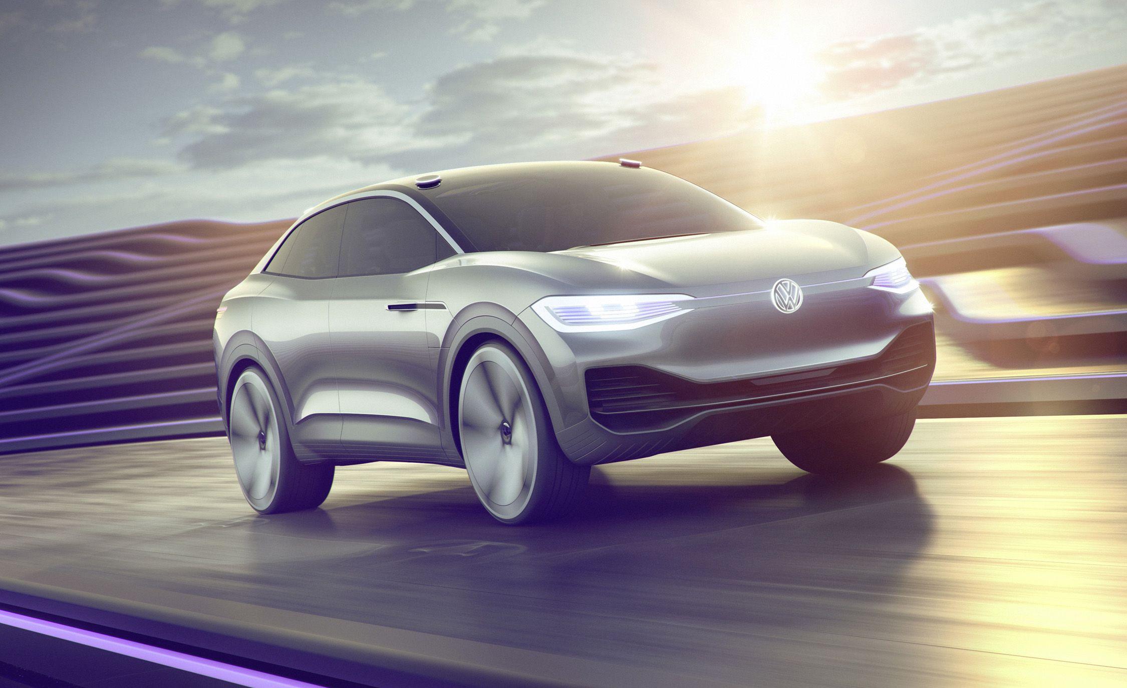 Volkswagen ID Crozz elétricos