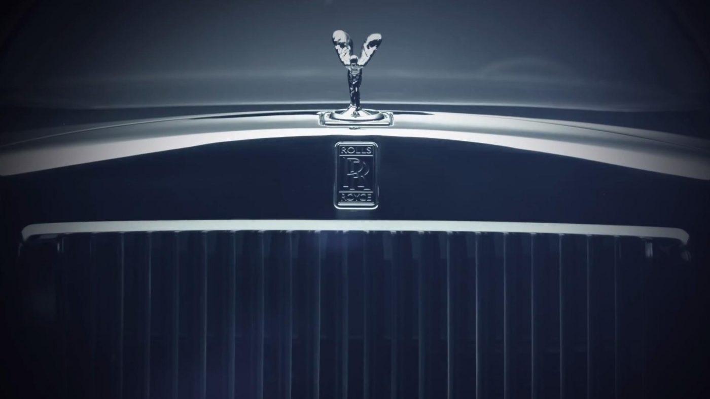 2017 Rolls-Royce Phantom teaser